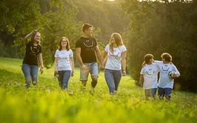 SMILEY Bio Baumwolle T-Shirts